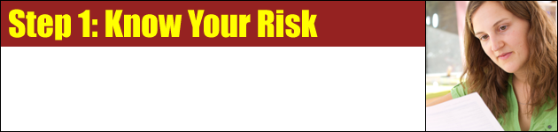 Step 1: Know Your Risk